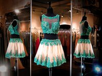Cheap Cheap 2 Pieces Homecoming Dresses Best Homecoming Dresses 2016