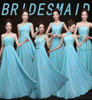 good evening - 2015 Cheap good quality bridesmaid dresses long chiffon bridesmaids dresses for wedding party plus size prom evening dresses for women girls