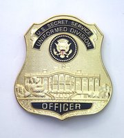 art service - The American White House Badge Alloy Badge U S Secret Service Uniformed Division Officer Badge Collection