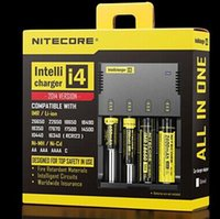 Wholesale Dropshipping in Intellicharger Nitecore I4 Charger Universal Charger for CR123A Battery E Cigarette Free