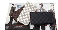 Wholesale Male genuine leather long design zipper wallet fashion women s casual day clutch card holder wallet