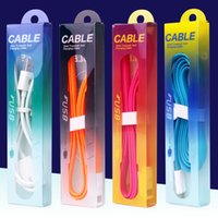 Wholesale 152x34x17mm cable Retail Package Universal colorful Packaging box Plastic boxes usb cable