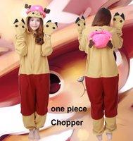 adult chopper - Cosplay Chopper Pajamas Hooded Conjoined Sleepwear Costumes Adult Unisex Onesie Soft Sleepwear CC32
