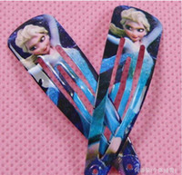 Wholesale Frozen Anna Elsa Hair Accessories Jewelry Party Jewellery Hairpin Christmas Hairpin for Kids Girl Childrens hair ornaments headwear