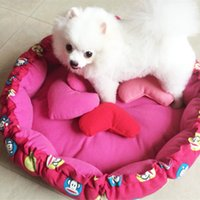 Wholesale Pet Supplies Pet Waterloo Large Pumpkin Korean Style Dog House Warm Lovely Dog Kennel Washable Dog Bed