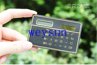calculator - DHL Freeshipping Ultra Thin Calculator Solar Slim Card Portable Calculator New Exotic Products Novelty Promotional Gift