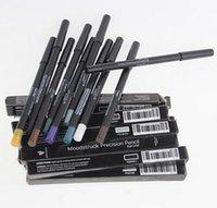 best gel eyeliner pencil - Best selling New YouNque Eyeliner pencil colors Waterproof Eye Liner Gel Makeup eye liner moodstruck precision pencil DDA3080 pc
