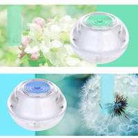 Wholesale Free DHL new Backlight Crystal USB Air Ultrasonic Humidifier Fogger Aroma Mist Maker Aromatherapy Essential Oil Diffuser for Home Office