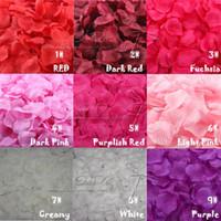 artificial flower offers - 2016 New Special Offer White I Do Rose Petal Rose Petals Wedding Decoration Artificial Flowers for Silk Decorative Wreaths
