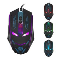 best mouse dpi for gaming - Best Price DPI LED lights Optical USB Button Wired Gaming Mouse cable Mouse Mice For Computers PC Laptop