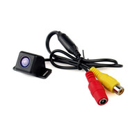 Wholesale Mini HD Car Rear View Camera Low Power Night Vision Waterproof Wide Viewing Angles Black Q4070A