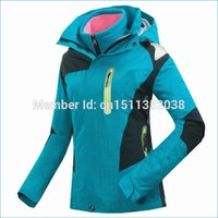 Wholesale ladies ski wear jacket red blue purple ski coats for women Breathable Mountaineering Couple Jackets J14696