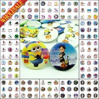 button badge - DHL EMS Inside Out Lalaloopsy Minions My Little Pony Minecraft Marvel s The Avengers Cartoon Pins Buttons Badges MM Brooch Badges