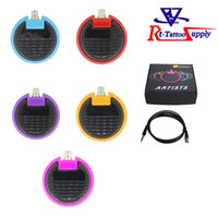 artists choice - 5Colors For Choice New Super artist Style ABS Material Tattoo Foot Pedal Switch With Tattoo Clip Cord For Tattoo Power Supply