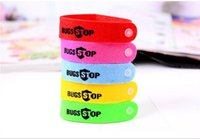 Wholesale New Mosquito Repellent Band Bracelets Anti Mosquito Pure Natural Baby Wristband Hand Ring