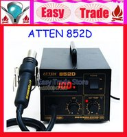 Cheap 220V Only 220V ATTEN AT852D 550W Advanced Hot Air Gun Heat Gun Digital Desoldering Station ATTEN 852D