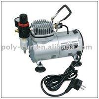 Frete grátis! Airbrush compressor AC Mini Compressor de ar para pintura tatoo mini-bomba de ar-DH18-2