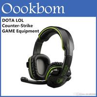 Cool design ESport WCG WPC Sades SA-708 recommandée Professional Gaming Headset casque informatique Pour PC jeu Dota 2 LOL CS Avec la boîte de détail