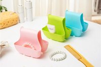 bathroom marketing materials - SMILE MARKET High Quality Best Material Plastic Sundries Multi Usages Small and Useful Natural Pink Storage Rack