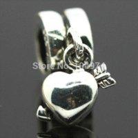 bead mandrel - Mandrel Pendants Silver Charm European Bead Compatible with Snake Chain Bracelets women jewelry Charms