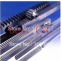 Wholesale CNC Rack Gear Mod Right Teeth x20x1000mm cnc rack and toothed steel toothed frequency hardening