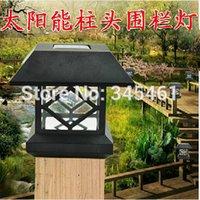 aire order - 10X Outdoor Led light Waterproof Solar post lights Luminaires Exterieurs Novelty garden light led de luz solar al aire libre order lt no tra