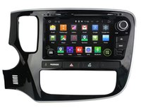 Android car audio dvd - Android Car DVD Player for Mitsubishi Outlander w GPS Navigation Radio BT USB AUX WIFI DVR Audio Stereo Core