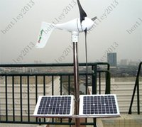 Wholesale Off grid Breeze Dragonfly W Wind turbine generator build in MPPT controller