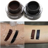 air brush color - Genuine GS Eyeliner Waterproof make up air cushion not dizzy catch lasting color Eyeliner eyeliner brush to send
