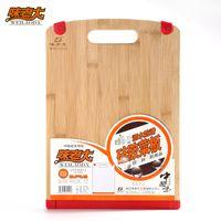 Cheap Wholesale-Silica gel pad bamboo cutting board chopping board chopping block slip-resistant cutting board Large chopping block