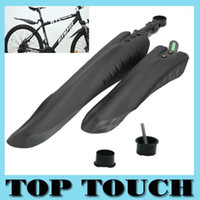 bicycle fender installation - Mountain Bike Bicycle Road Tyre Tire Front Rear Mudguard Fender Set Mud Guard With Set of Installation Gadgets A5