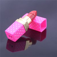 Wholesale Creative Design Colorful Portable Lighter Butane Flame Gas Point Lipstick Shape Lighter Model Cigarette Lighter US03