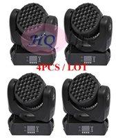 4pcs / lot chaud 36 3w RGBW Cree conduit mini faisceau de lavage de déplacement de la tête