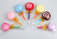 baby washcloth lollipops - Washcloth Towel Gift Lollipop Towel Bridal Baby Shower Wedding Party Favor party supplies for dream wedding