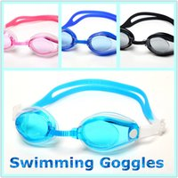 Wholesale Swim Goggles Outdoors Sports Children Swimming Goggles Kids Cartoon Waterproof Anti fog Swim Goggles Boxed PC Goggles