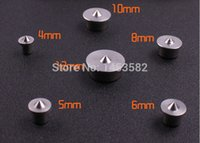 Wholesale 6pcs Dowel and Tenon Center Set Roundwood sales locator punch Stainless steel mm Woodworking Log Top notch