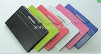Wholesale Folio Flip Utral slim Universal PU leather case cover with stand and Mix color For inch Tablet PC Medion Lifetab E10320