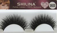 Wholesale SHILINA False Eyelashes Pair Handmade False Lashes Long Thick Black Fake Eye Lash Extension Professional Makeup