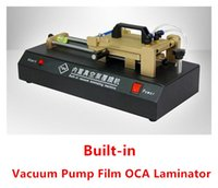 mobile phone touch screen - NEW OCA Film Laminator Laminating Machine with Vacuum Pumfor for Max Inch Smart Phone Mobile Phone Glass LCD Touch Screen Repairing Tools