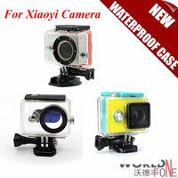 Wholesale 2015 Newest Waterproof Case for Xiaomi Yi Camera Mi Yi M Diving Sports Waterproof Box Yi Action Camera Accessories