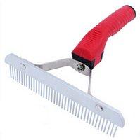 big dog mastiff - The new super upset Golden retriever Tibetan mastiff a comb Big dog red plastic rake comb
