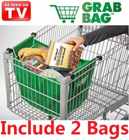 Folding folding shopping cart - New Large Reusable Foldable Expandable Eco Friendly Non Woven Cotton Shopping Cart Hand Tote Grocery Bags