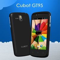 Originale Cubot GT95 gt95 4.0 '' Dual Core MTK6572 del Android 4.2 del telefono cellulare 512 MB di RAM 4GB smartphone ROM 5.0MP fotocamera