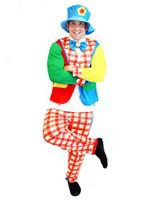 adult clown suit - GN C010 Luxury clown clothes Cosplay dress adults clown clothes adults clown suit