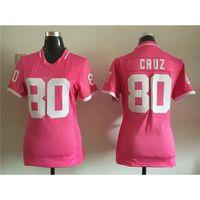 Wholesale Women Cruz Football Jerseys Pink Football Shirts All Football Teams Wears Lady Discount Football Jerseys Cheap Football Shirts Big Sale