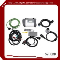 automotive car repairs - benz car tools interface mb star c4 MB SD Connect Compact with WIFI mb sd c4 for Cars and Trucks without software hdd DHL free