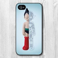 astro apple - aYark High Quatity A wall of iron wood Astro Boy Hard Plastic Mobile Phone Bag Case Cover for iphone s s c plus