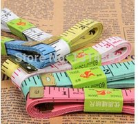 Wholesale 20pcs Flexible Rule Professional Tailoring Tape Measure Sewing superior quality Measuring cm fita de medicao