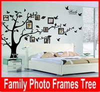art photo poster - Large Room Photo Frame Decoration Family Tree Wall Decal Sticker Poster on a Wall Sticker Tree Wallpaper Kids Photoframe