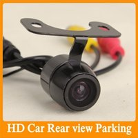 Wholesale 10pcs HD Waterproof Car Rear View Camera Degree Wide View quot color CMOS Car Driving Parking Assistanse Rear view